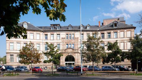 Extérieur de la clinique Adassa Strasbourg