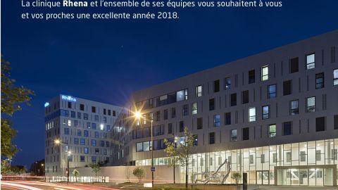Clinique Rhena Strasbourg meilleurs voeux 2018
