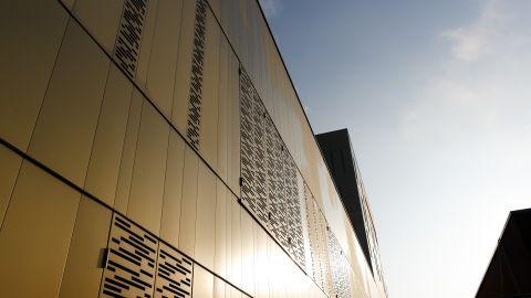 Clinique Rhéna Strasbourg & couché de soleil