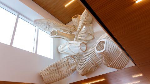 Architecture moderne & art Clinique Rhéna